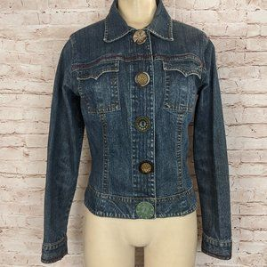 Cabi Denim Jacket Chunky Buttons #390